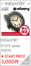 INFANTRY IF-013-BE ミリタリーウォッチ メンズウォッチ 腕時計